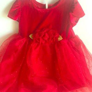 2T Red Toddler Formal Dress